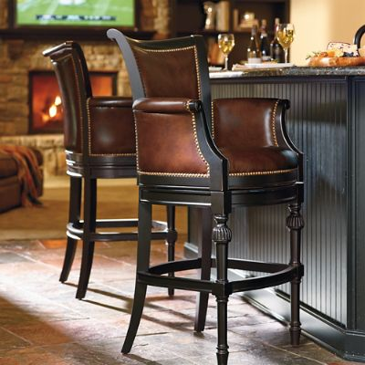 Chesterfield Swivel Bar And Counter Stools Frontgate
