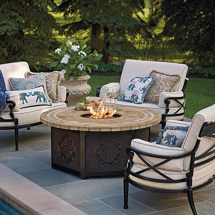 Mosaic Custom Fire Table