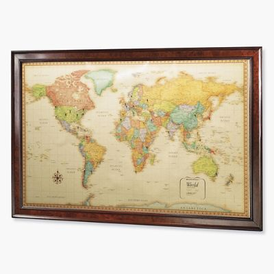 US Magnetic Travel Map Frontgate