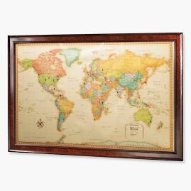 US Magnetic Travel Map Frontgate - Us magnetic travel map